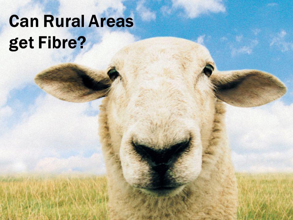 Can Rural Areas get Fibre
