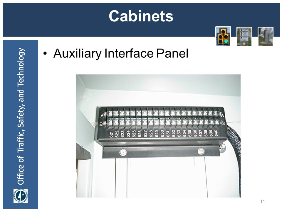 * 07/16/96 Cabinets Auxiliary Interface Panel *