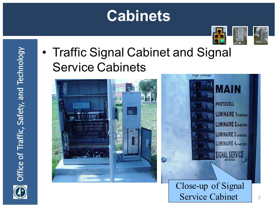 Cabinets Traffic Signal Cabinet and Signal Service Cabinets