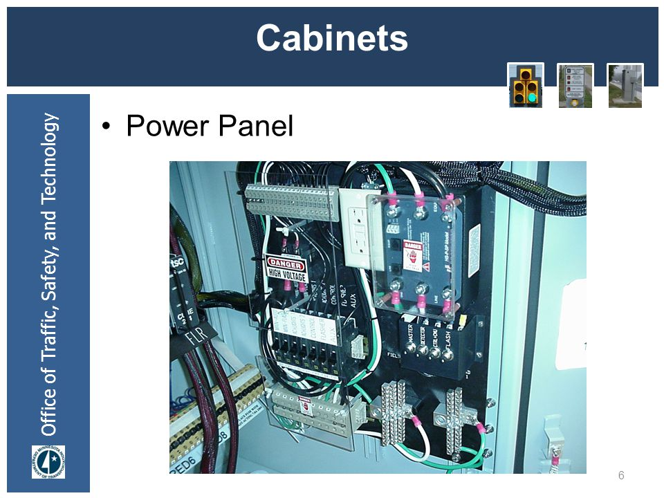 * 07/16/96 Cabinets Power Panel *