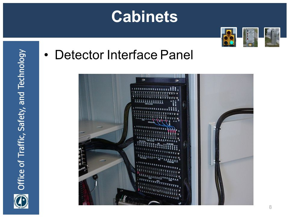 * 07/16/96 Cabinets Detector Interface Panel *