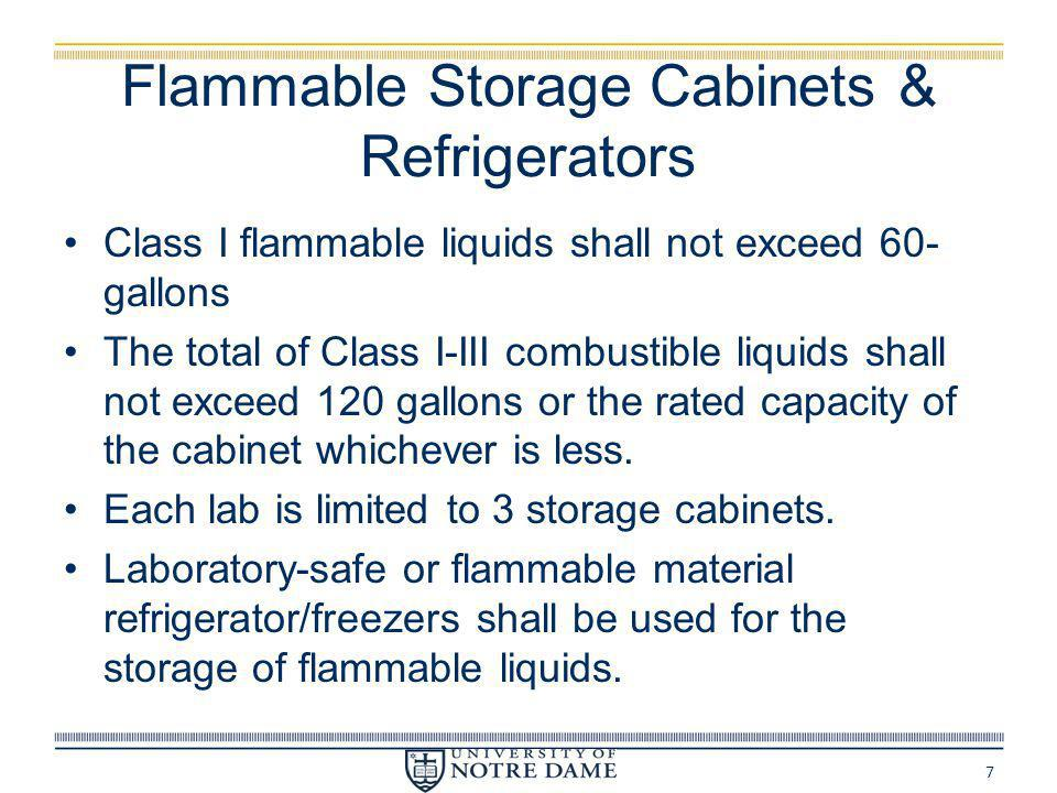 Flammable Storage Cabinets & Refrigerators