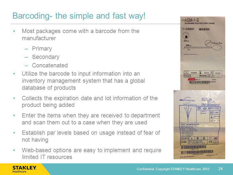 Barcoding- the simple and fast way!