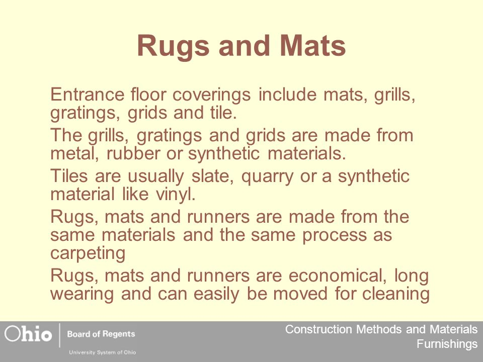 Rugs and Mats