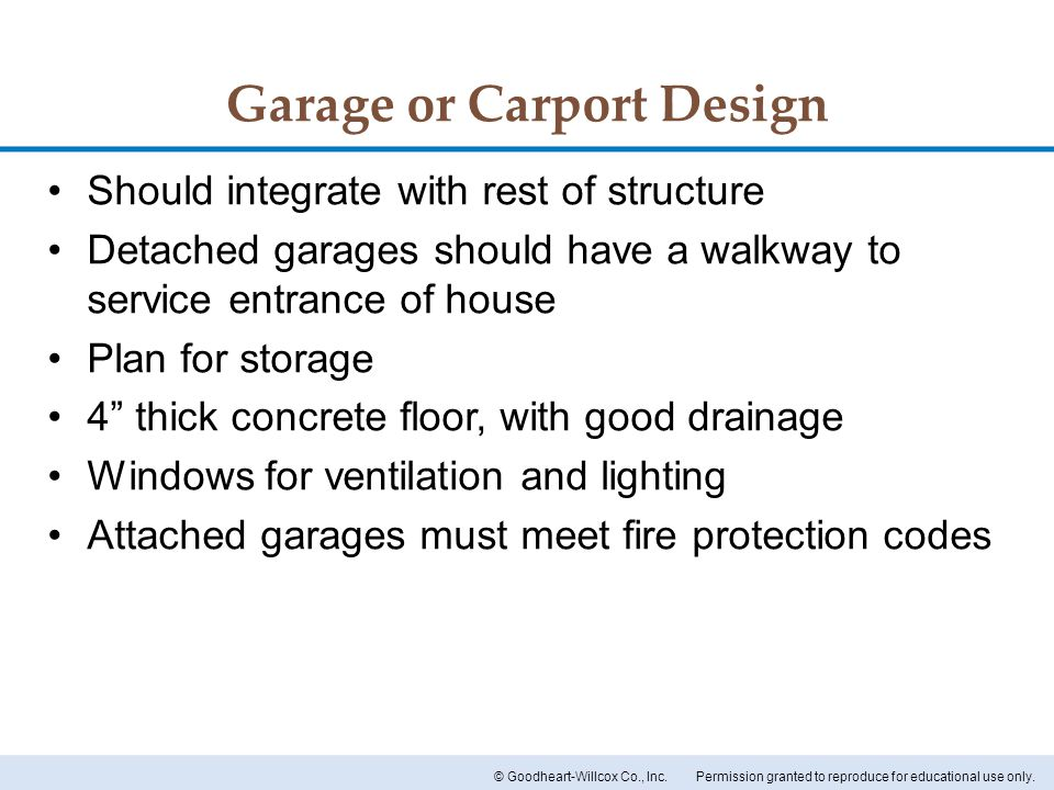 Garage or Carport Design