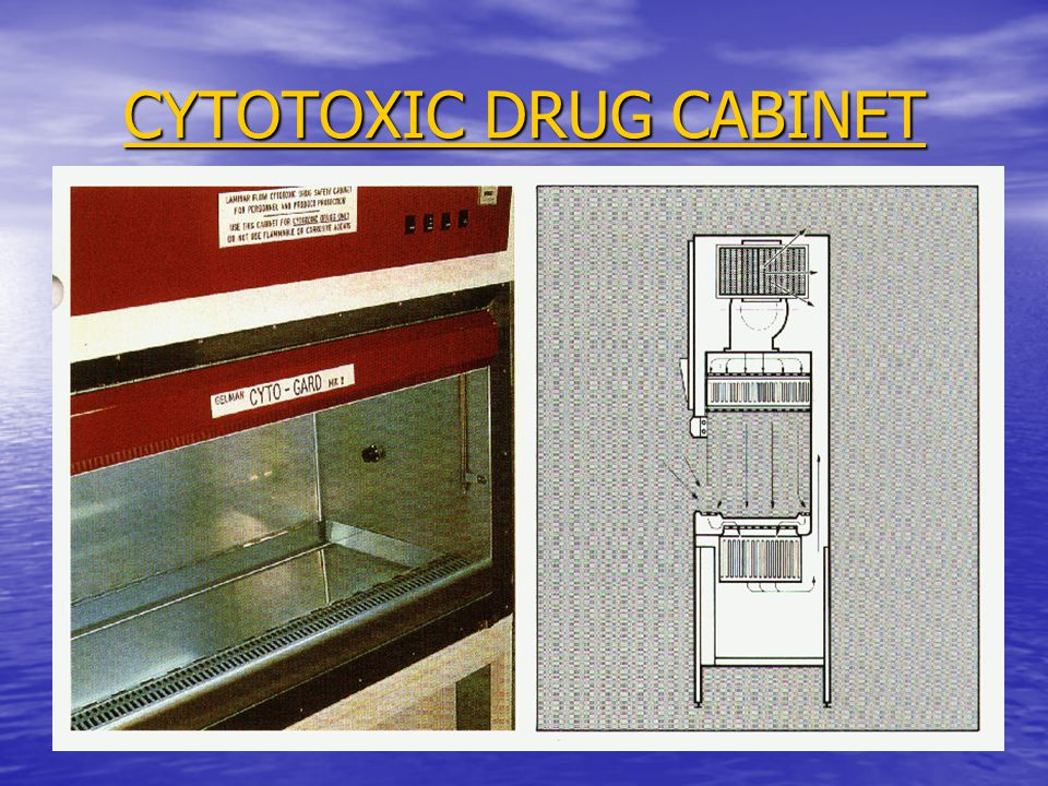 CYTOTOXIC DRUG CABINET