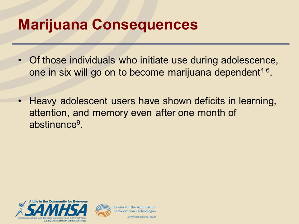 Marijuana Consequences