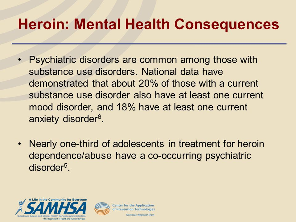 Heroin: Mental Health Consequences