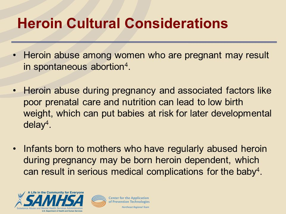Heroin Cultural Considerations