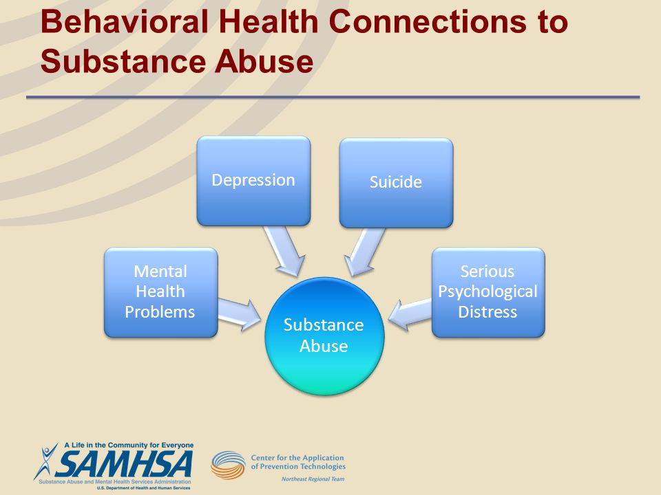 Behavioral Health Connections to Substance Abuse