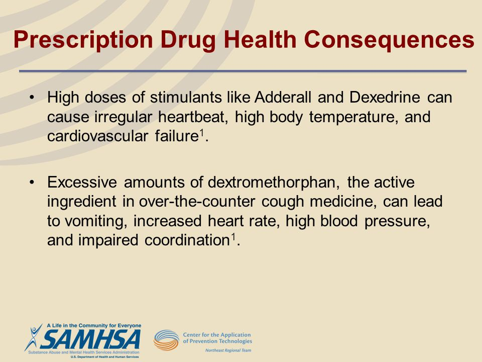 Prescription Drug Health Consequences