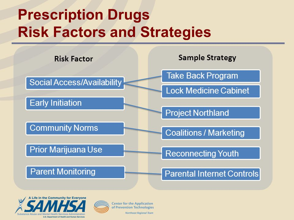 Prescription Drugs Risk Factors and Strategies