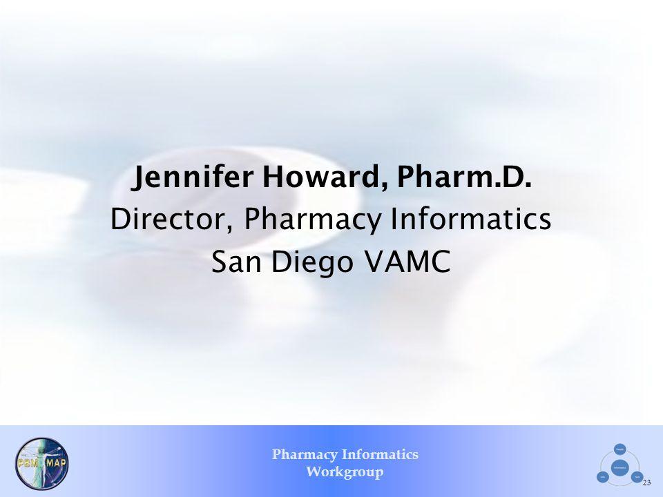 Jennifer Howard, Pharm.D.