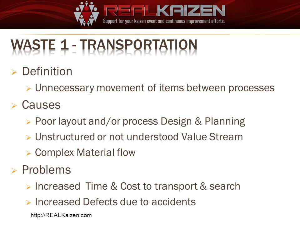 Waste 1 - Transportation