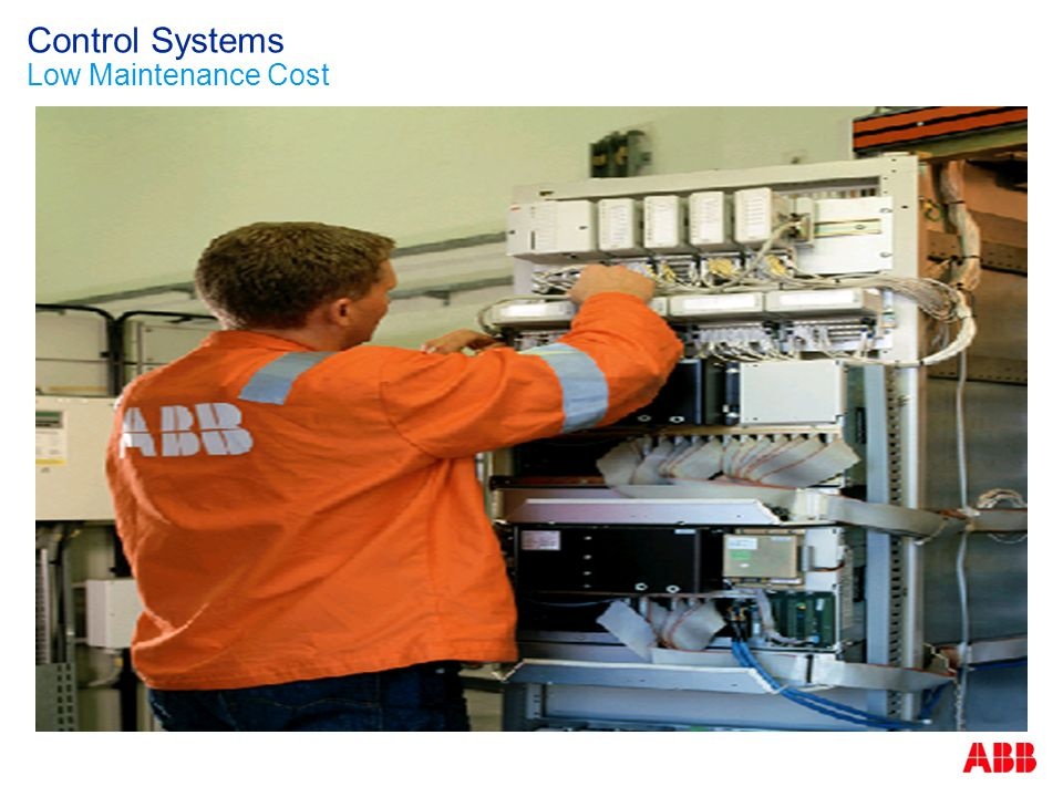 Control Systems Low Maintenance Cost