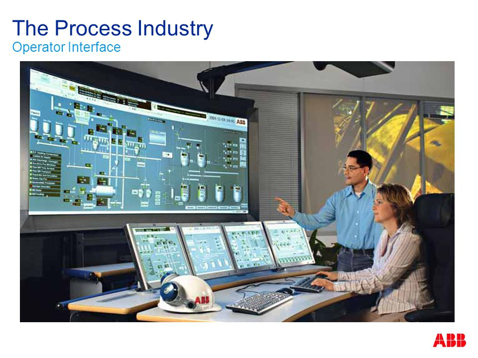 The Process Industry Operator Interface