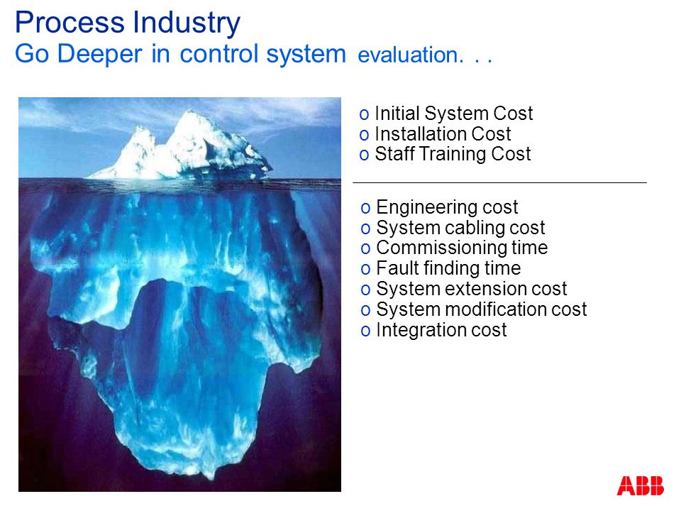 Process Industry Go Deeper in control system evaluation. . .