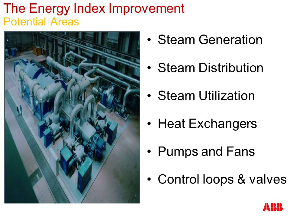 The Energy Index Improvement Potential Areas