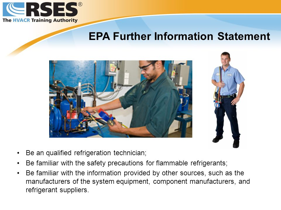 EPA Further Information Statement