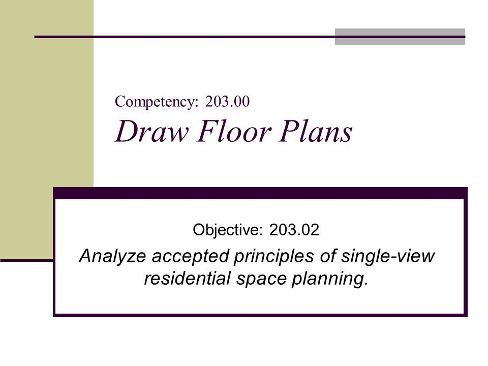 Competency Draw Floor Plans ppt video online download