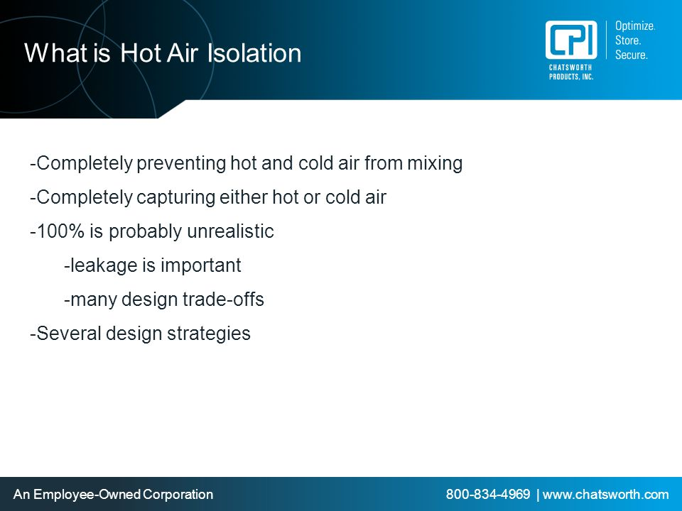 What is Hot Air Isolation
