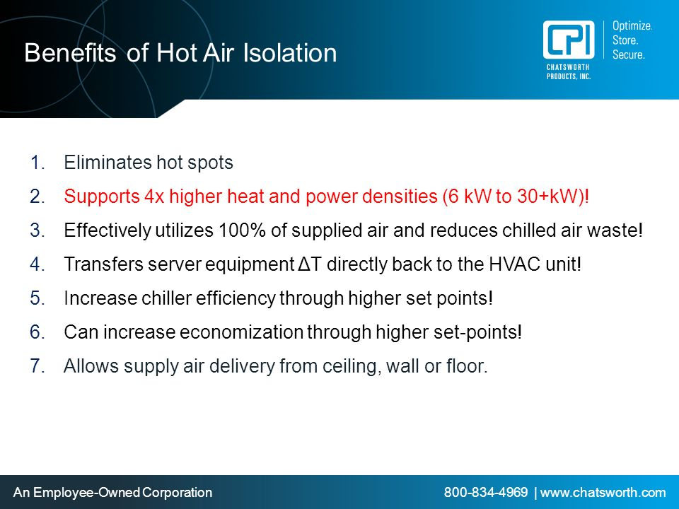 Benefits of Hot Air Isolation