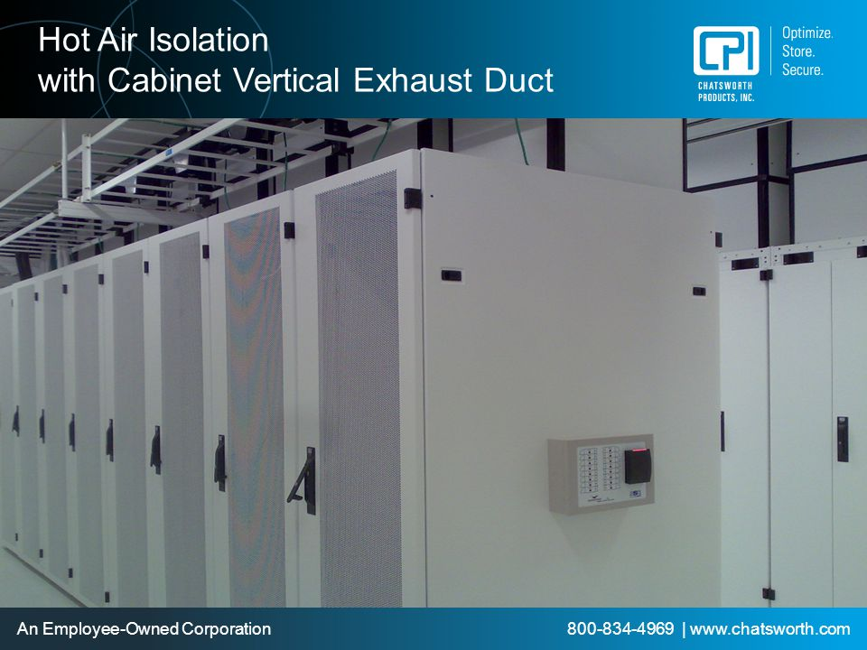with Cabinet Vertical Exhaust Duct