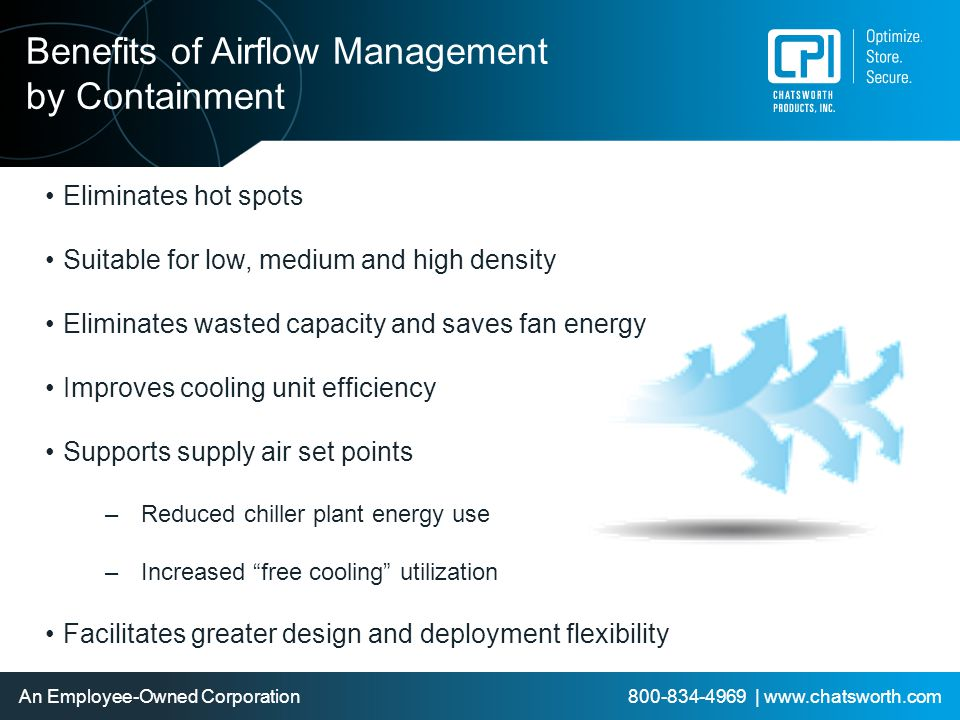 Benefits of Airflow Management by Containment