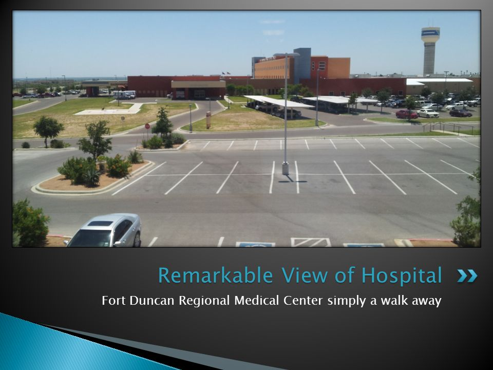 Remarkable View of Hospital