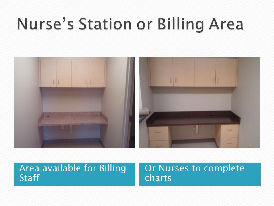Nurse's Station or Billing Area