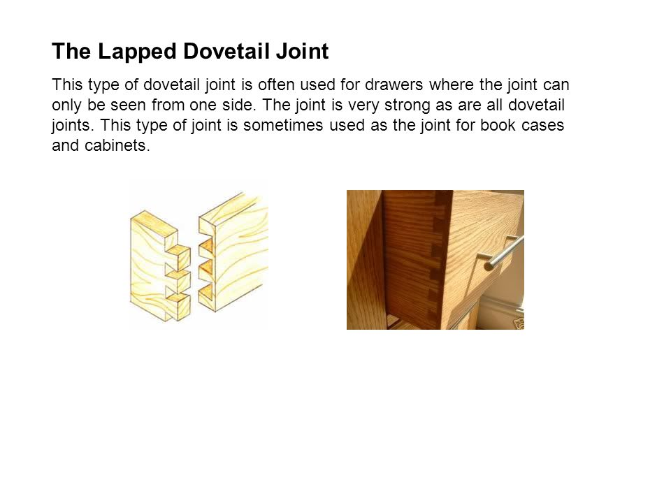 The Lapped Dovetail Joint