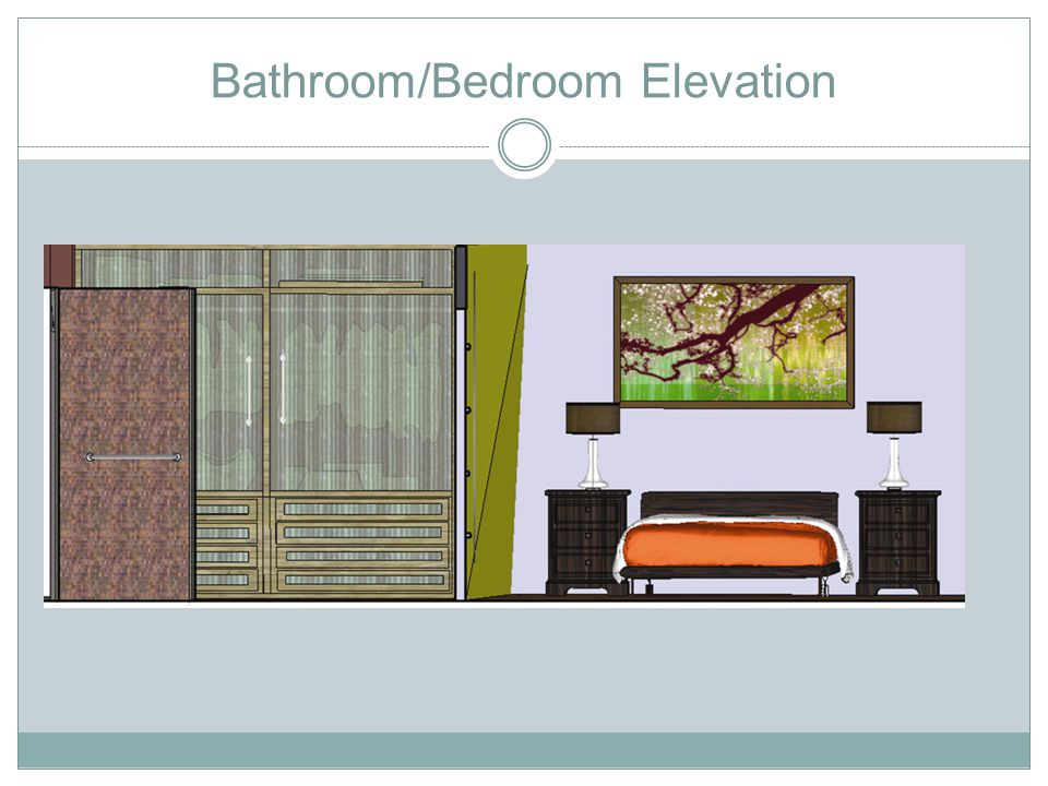Bathroom/Bedroom Elevation