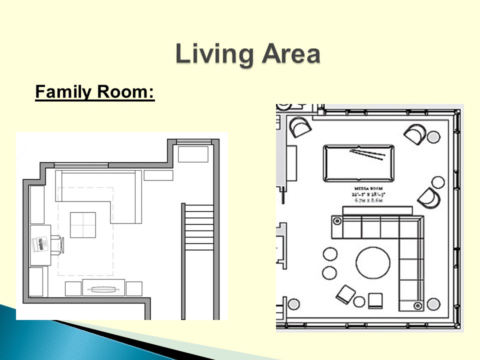 Living Area Family Room: