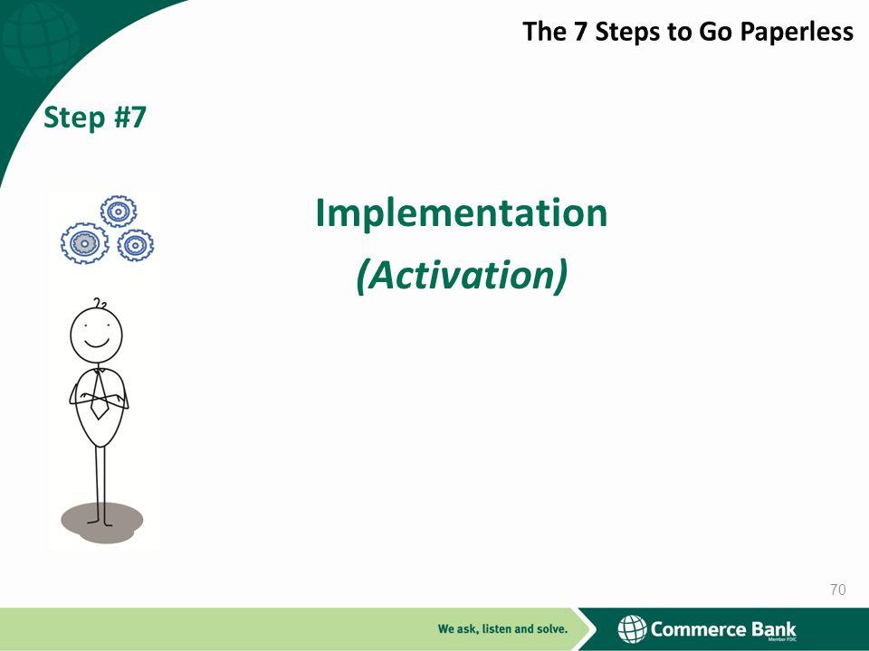 Implementation (Activation)