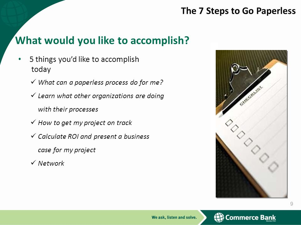 What would you like to accomplish