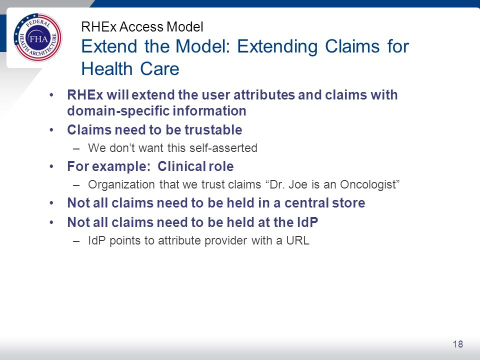 RHEx Access Model Standards in Action