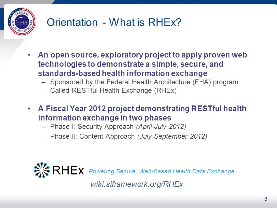 What Are the Elements of RHEx Security