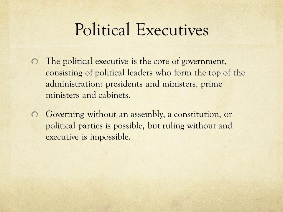 Political Executives
