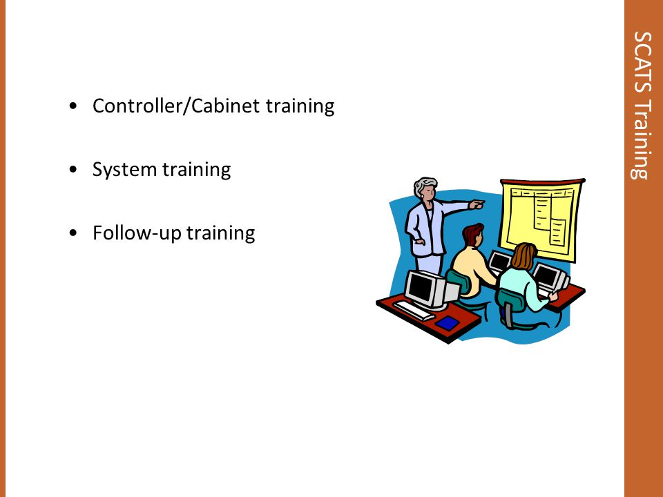 SCATS Training Controller/Cabinet training System training