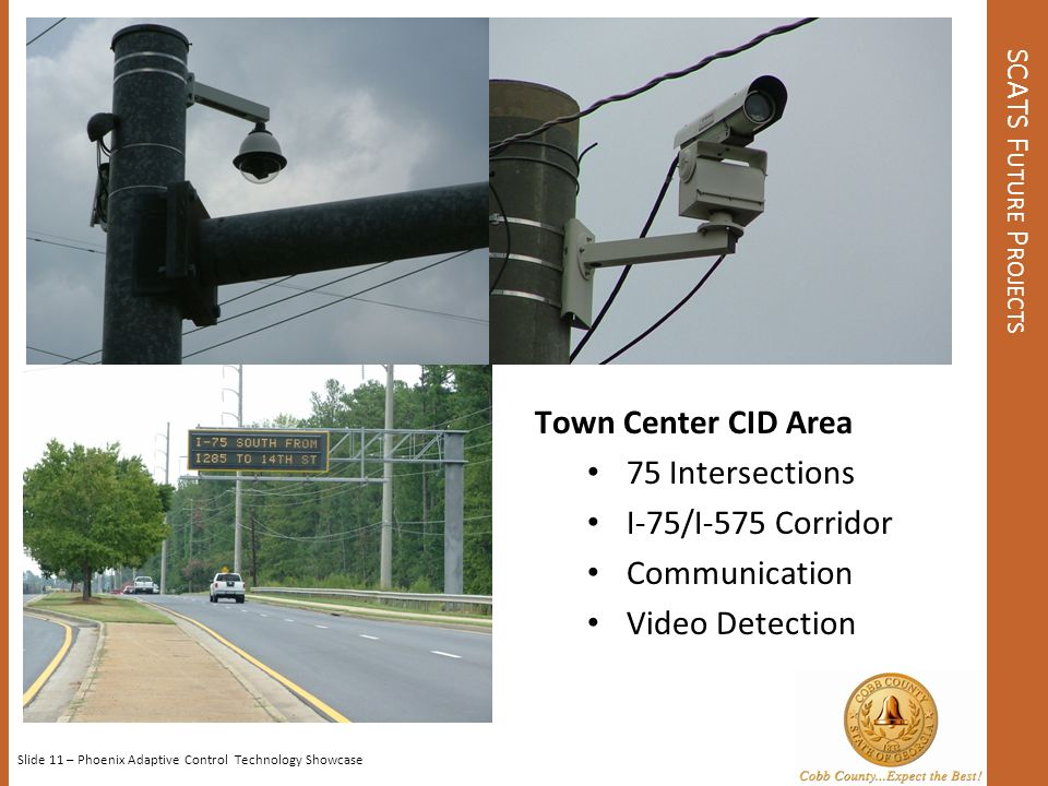 Town Center CID Area 75 Intersections I-75/I-575 Corridor