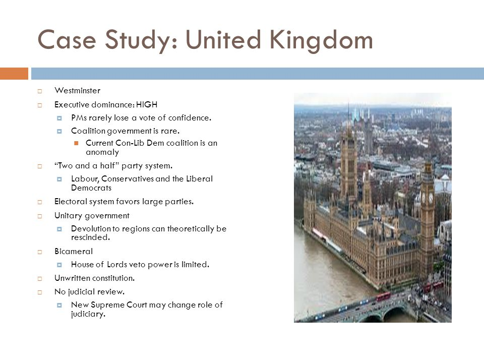 Case Study: United Kingdom