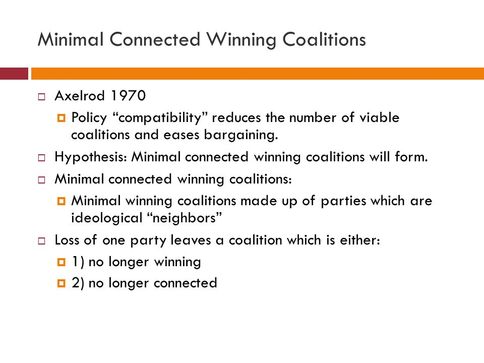 Minimal Connected Winning Coalitions