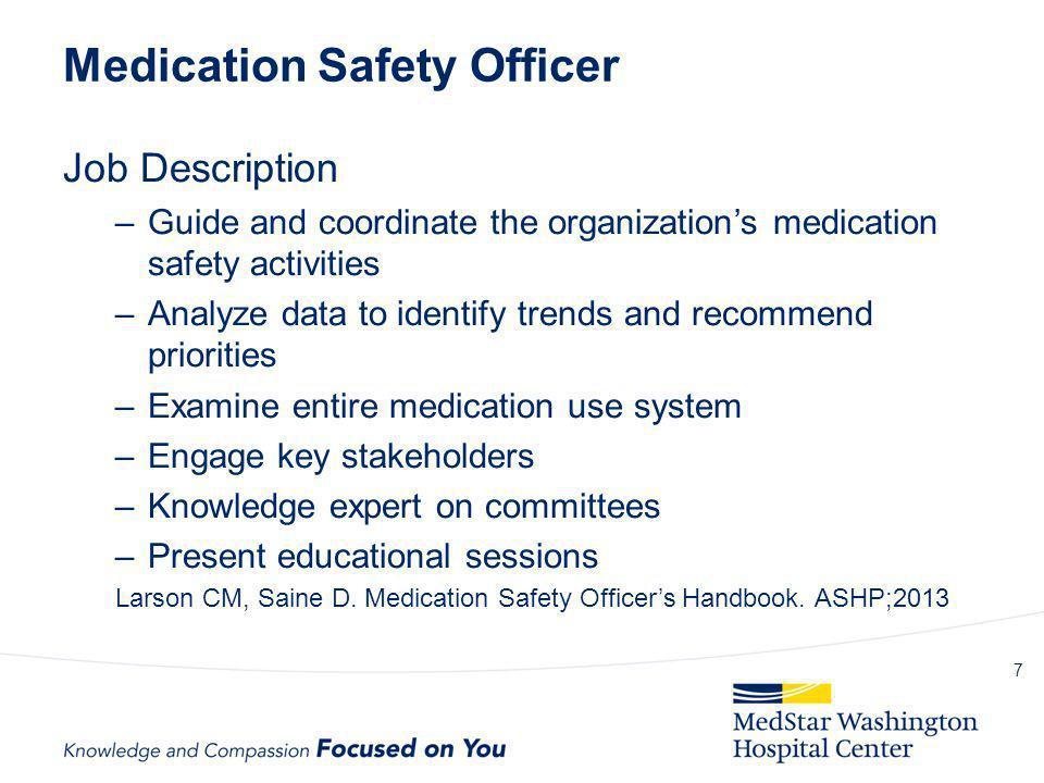 Medication Safety Officer