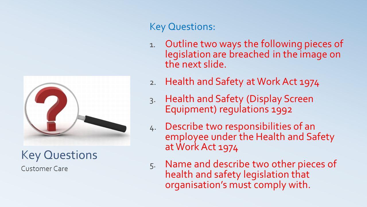 Key Questions Key Questions: