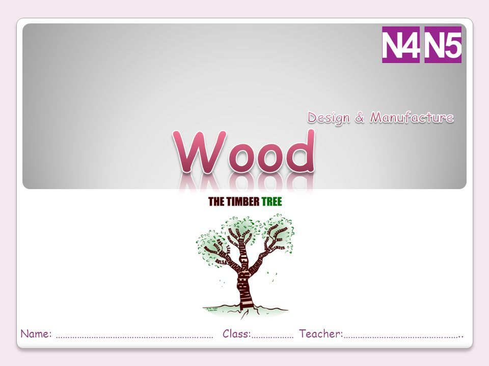 Wood Design & Manufacture