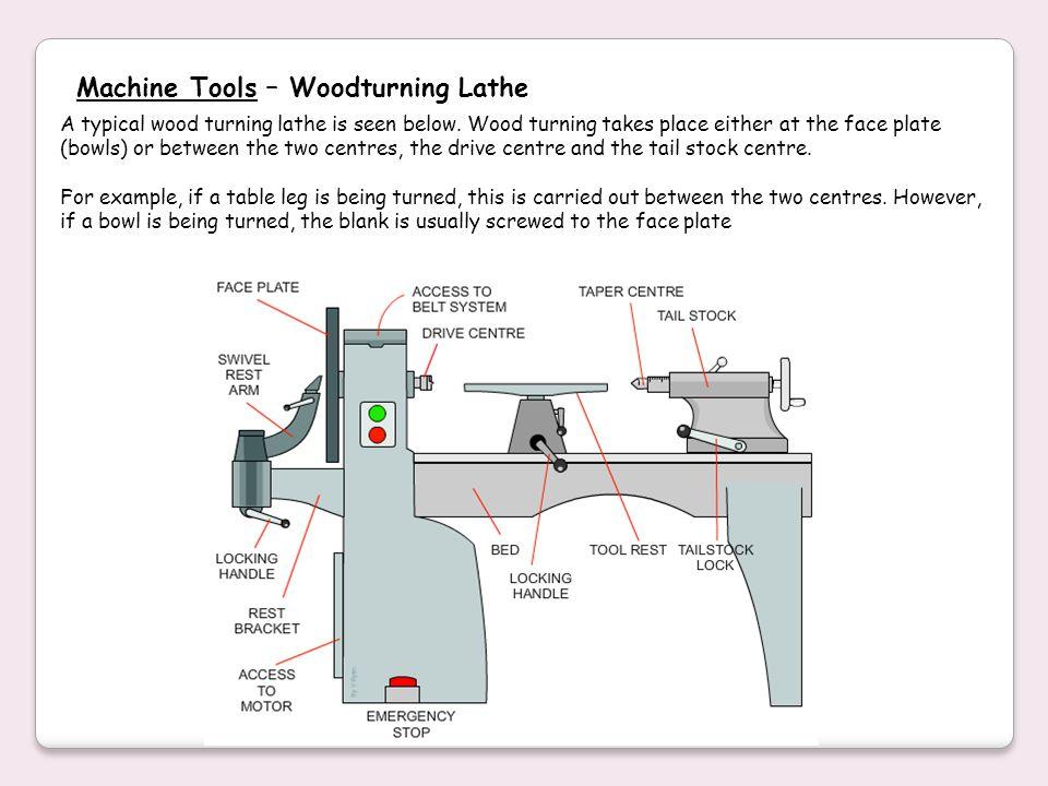 Machine Tools – Woodturning Lathe