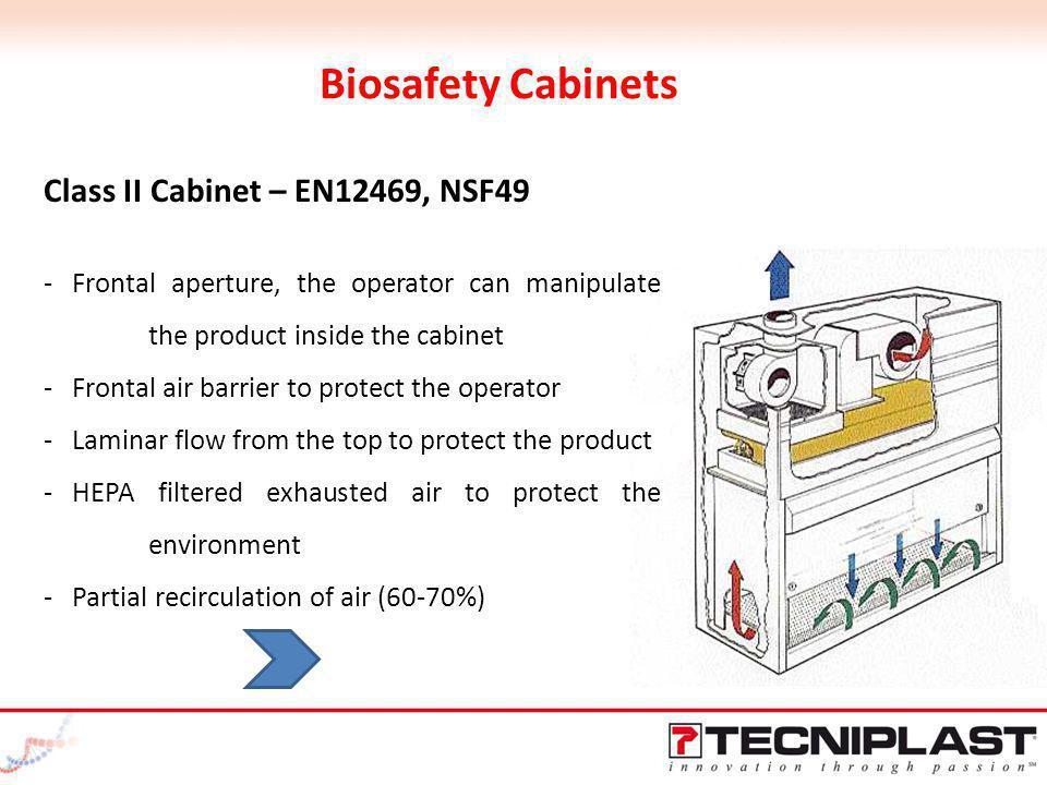 Biosafety Cabinets Class II Cabinet – EN12469, NSF49