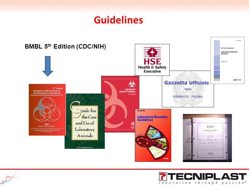 Guidelines BMBL 5th Edition (CDC/NIH)