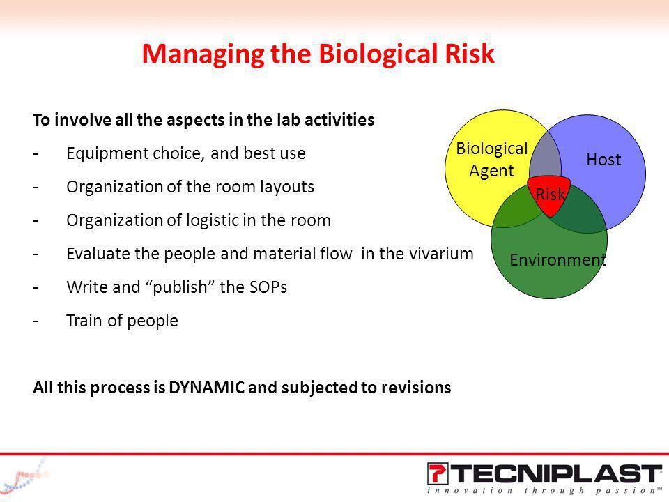 Managing the Biological Risk