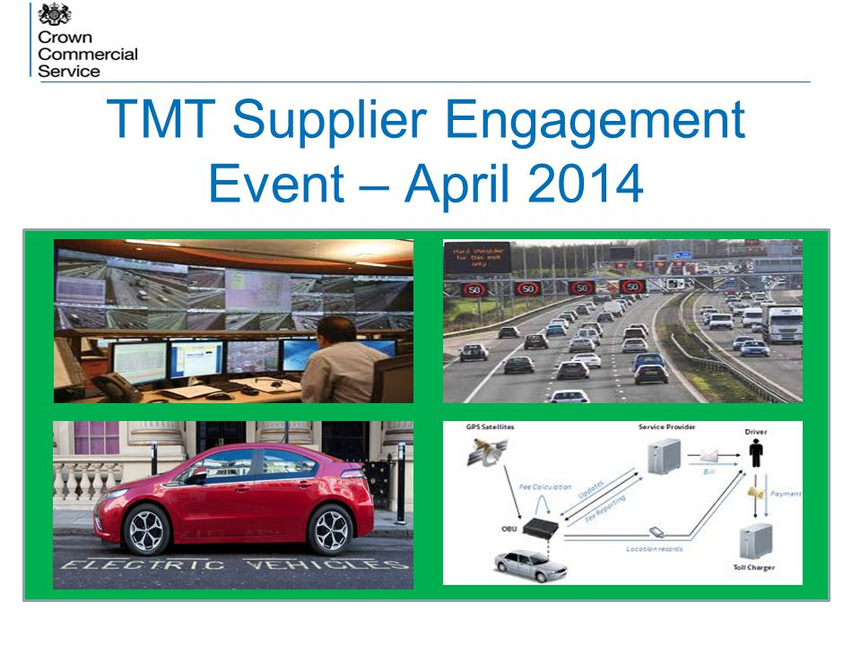 TMT Supplier Engagement Event – April 2014